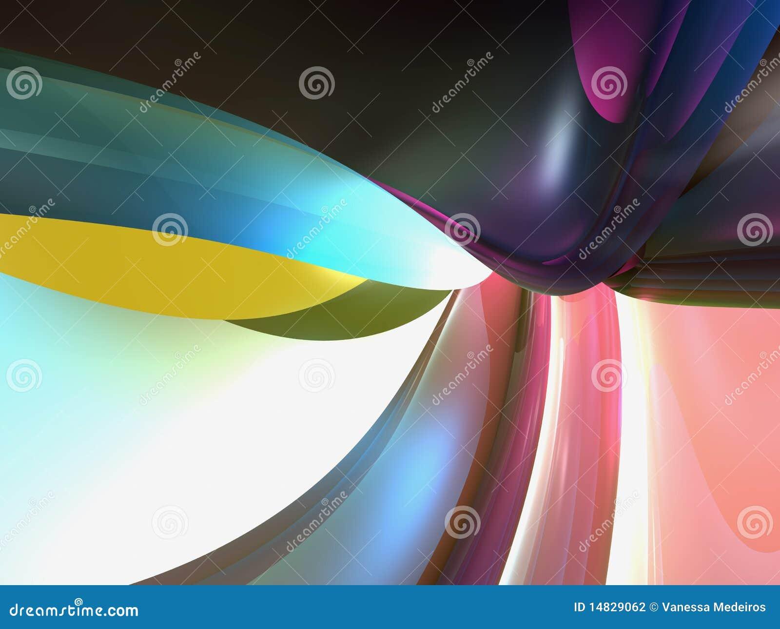Esporte Tileable Papel De Parede Colorido: Papel De Parede Abstrato Colorido Do Fundo Ilustração