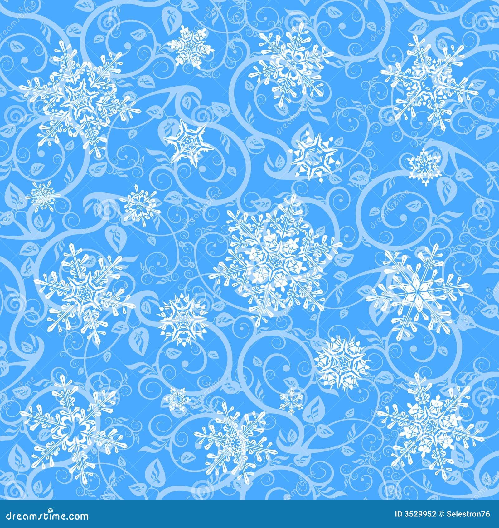 Papel de parede flocos de neve do inverno fotografia de - Papel de pared decorativo ...