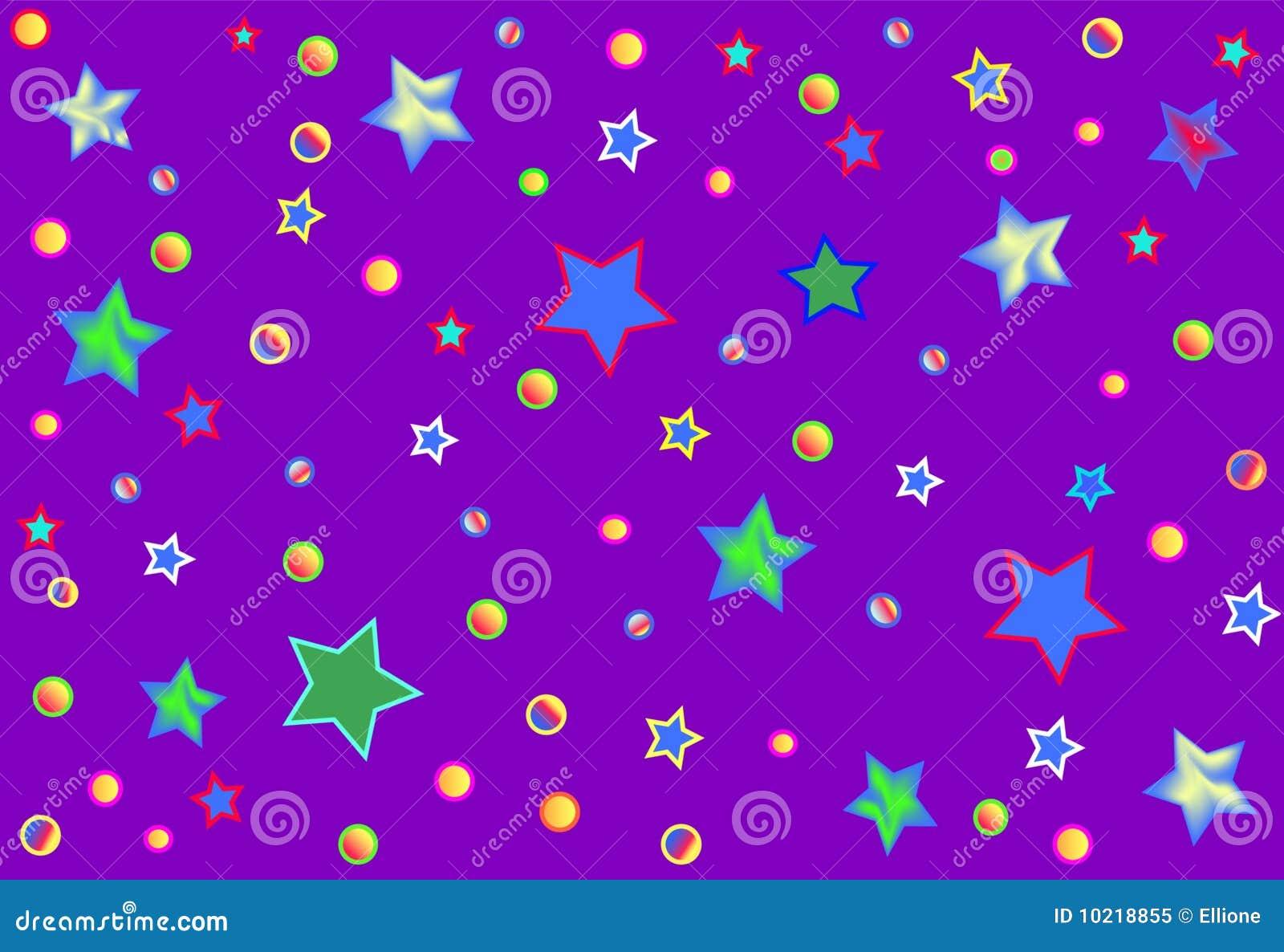 Esporte Tileable Papel De Parede Colorido: Papel De Parede Colorido Abstrato Ilustração Stock