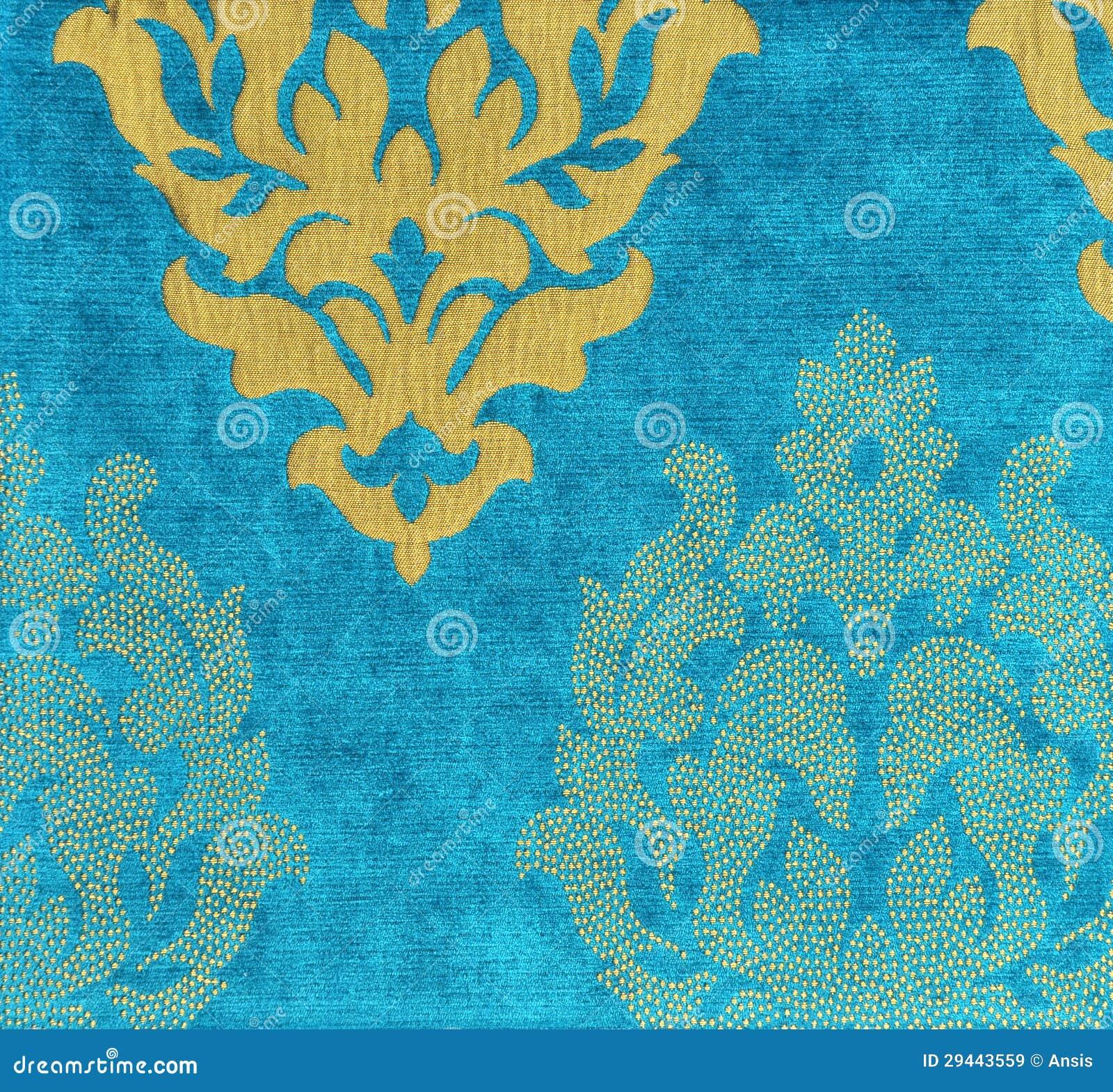 Papel De Parede Da Tela Veludo Dourado Decorativo Royalty Free