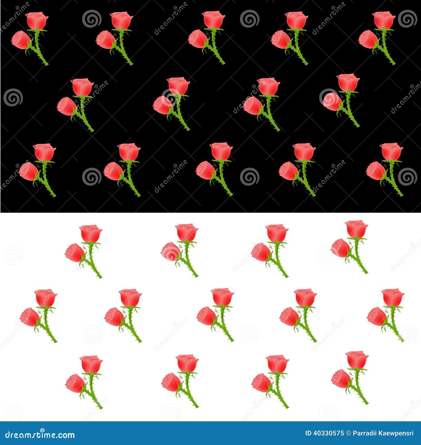 parede vermelha : Papel De Parede De Rosa Vermelha Ilustra??o do Vetor - Imagem ...
