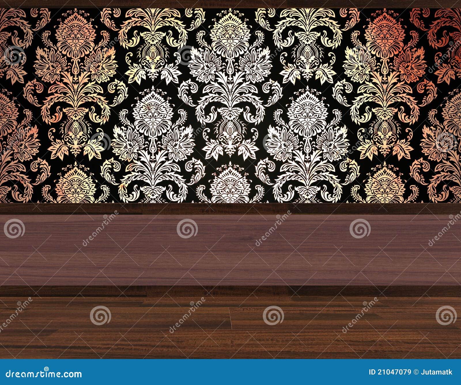 Papel De Parede Do Quarto Imagens de Stock Royalty Free  Imagem 21047079