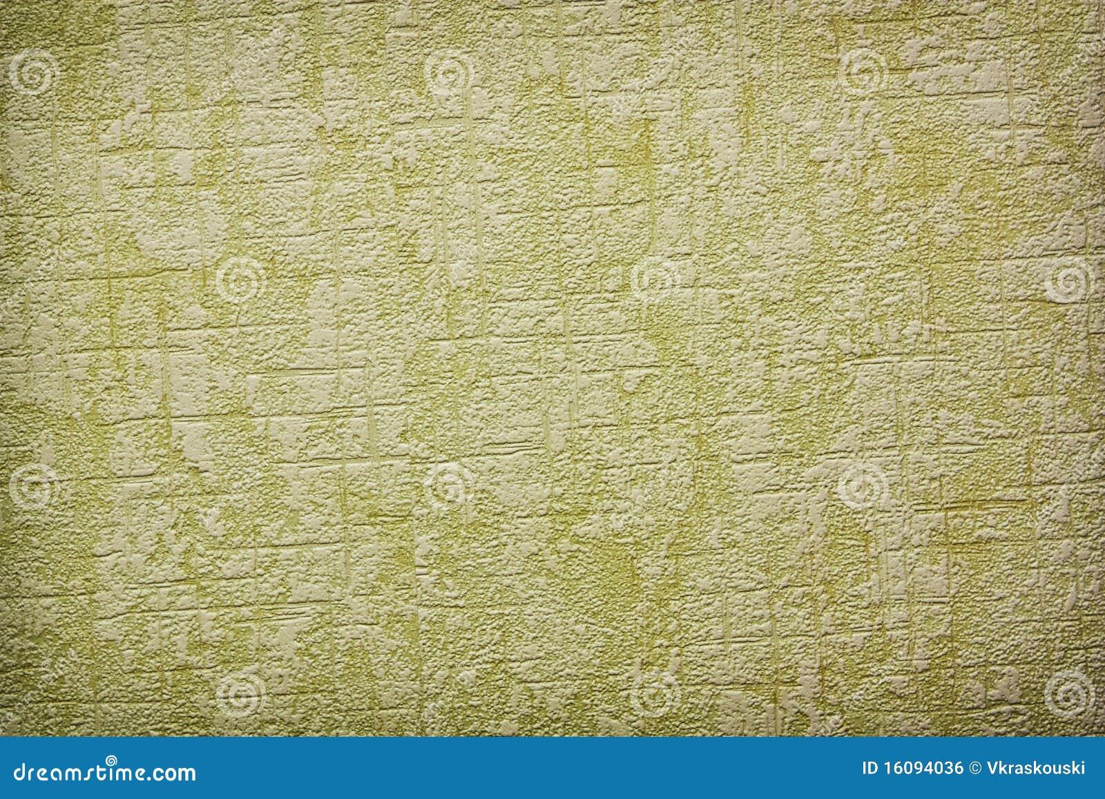 Papel de parede do verde do vintage imagem de stock - Papel de pared retro ...