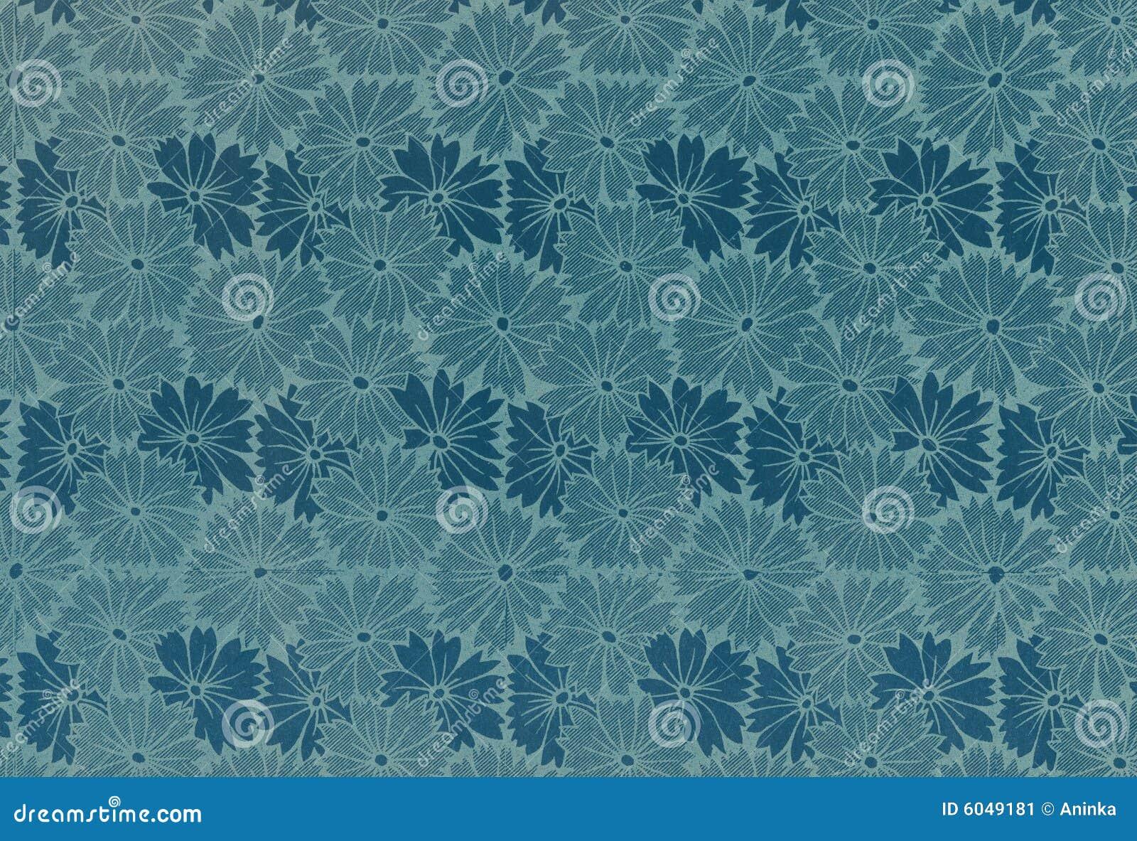 Papel de parede floral do vintage imagem de stock imagem - Papel de pared retro ...