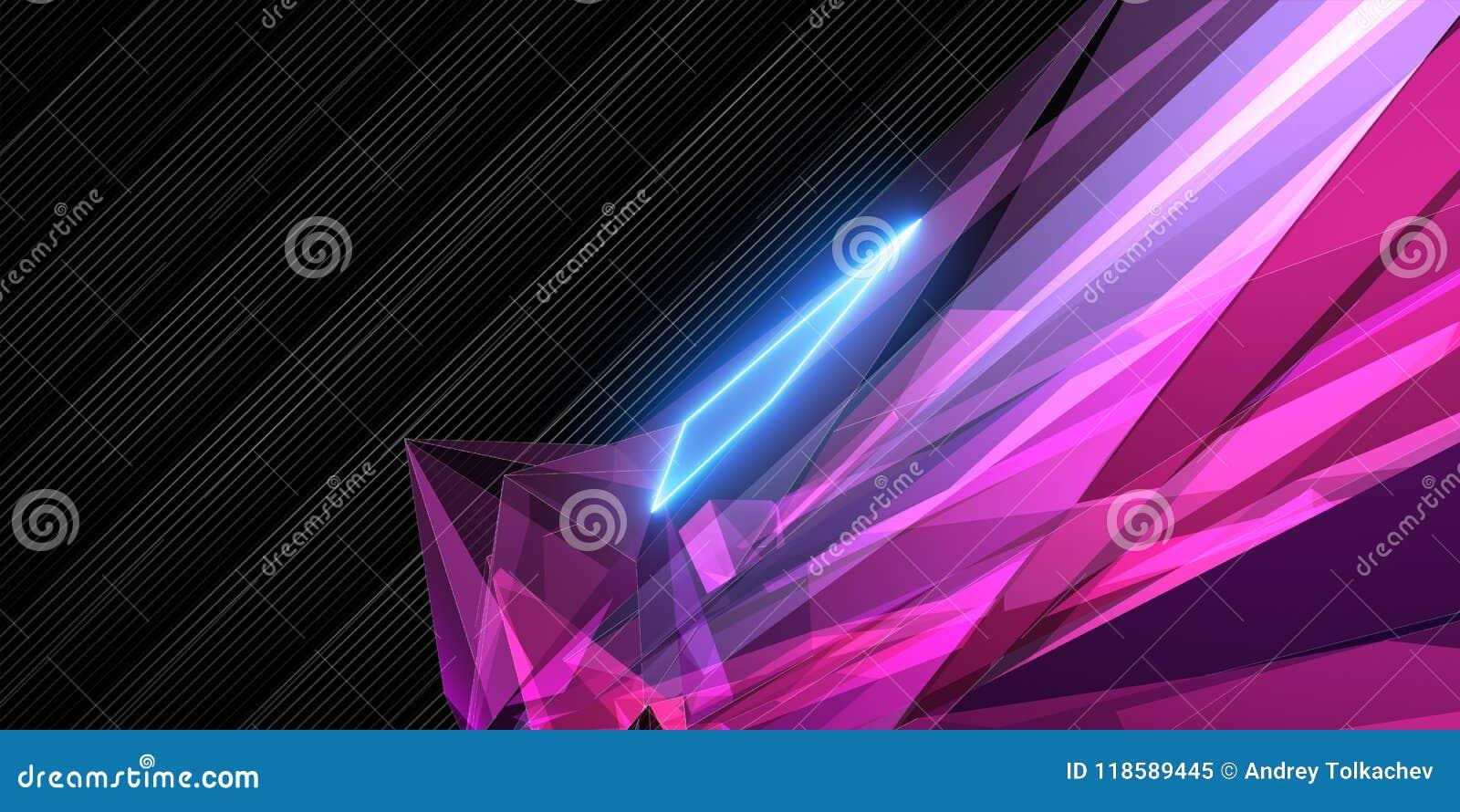 Papel de parede geométrico cor-de-rosa