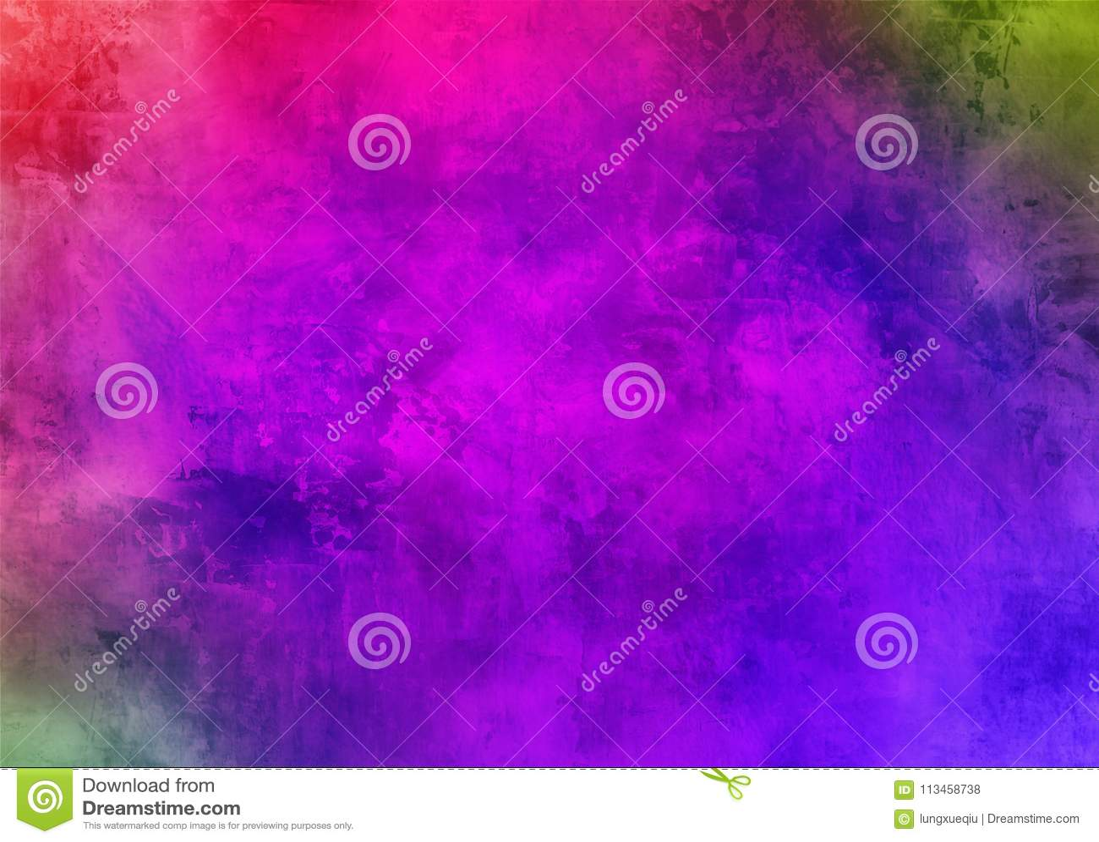 Papel de parede roxo escuro do fundo de Smokey Abstract Pattern Texture Beautiful da poeira de Violet Mystic Old Distorted Grunge