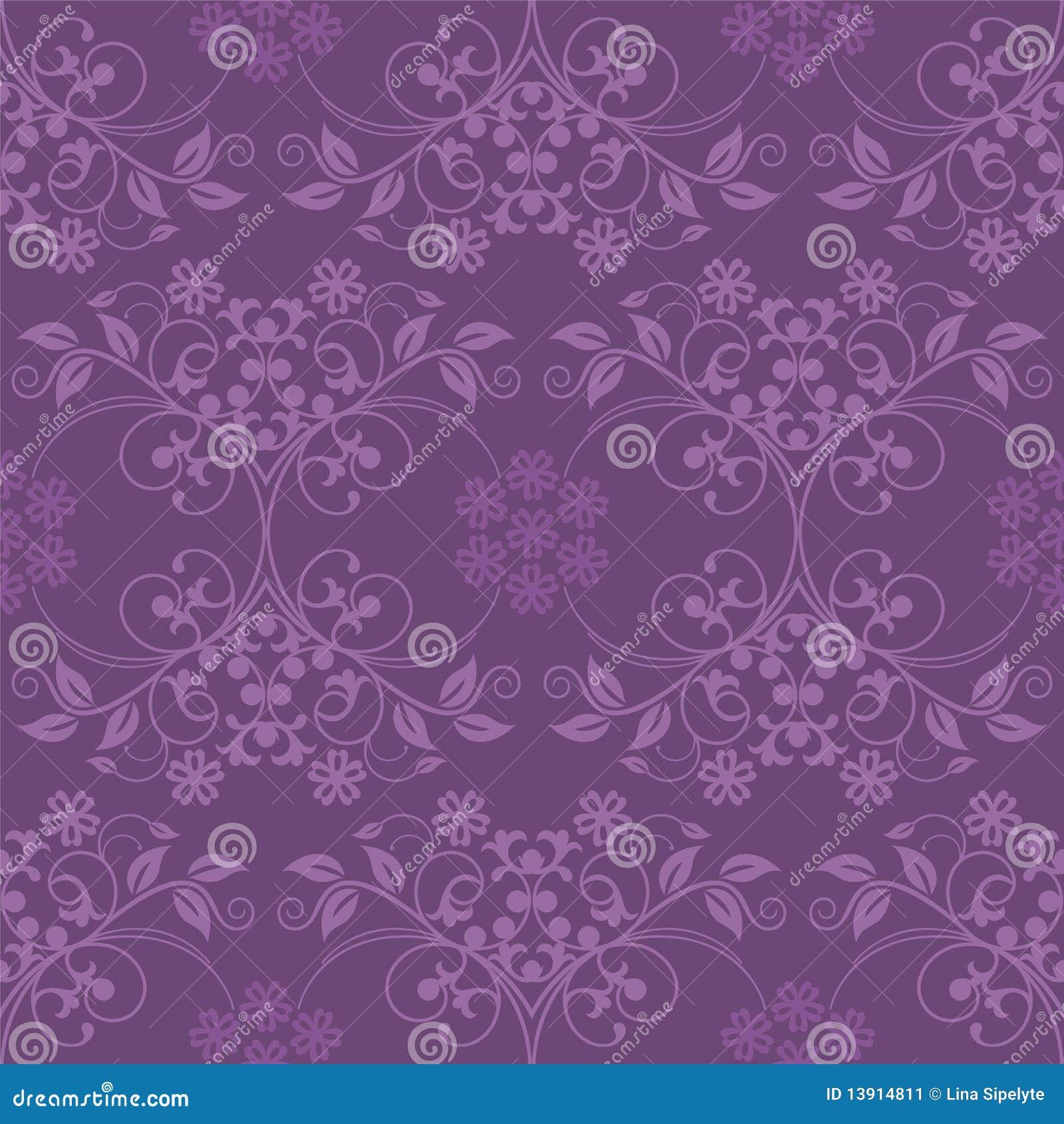 Papel de parede roxo sem emenda ilustra o do vetor ilustra o de decorativo pattern 13914811 - Papel para paredes decorativo ...
