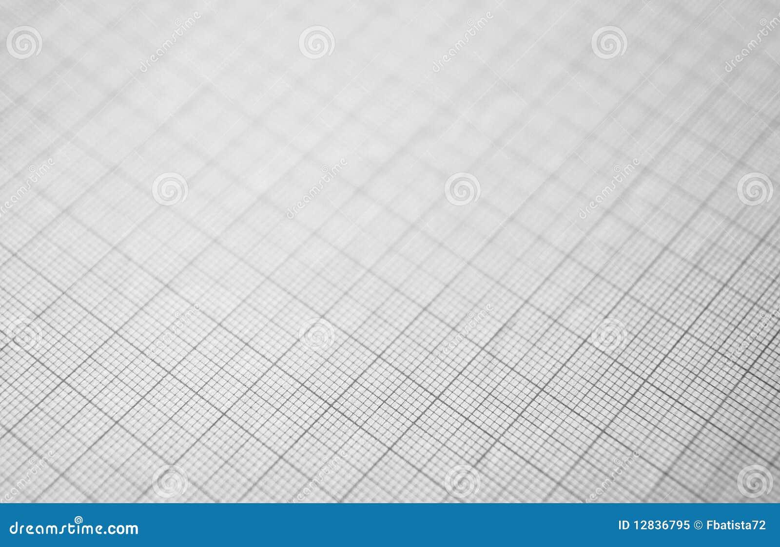 Papel de representação gráfica preto para