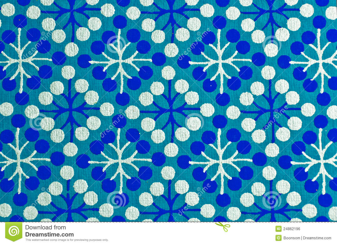 Papel Decorativo Azul Foto De Stock Imagem De Antique