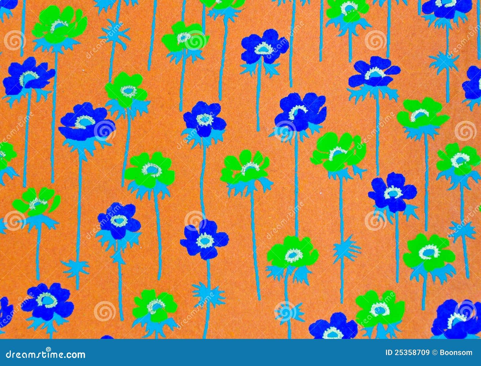 Papel decorativo de la flor im genes de archivo libres de for Fotos de papel decorativo