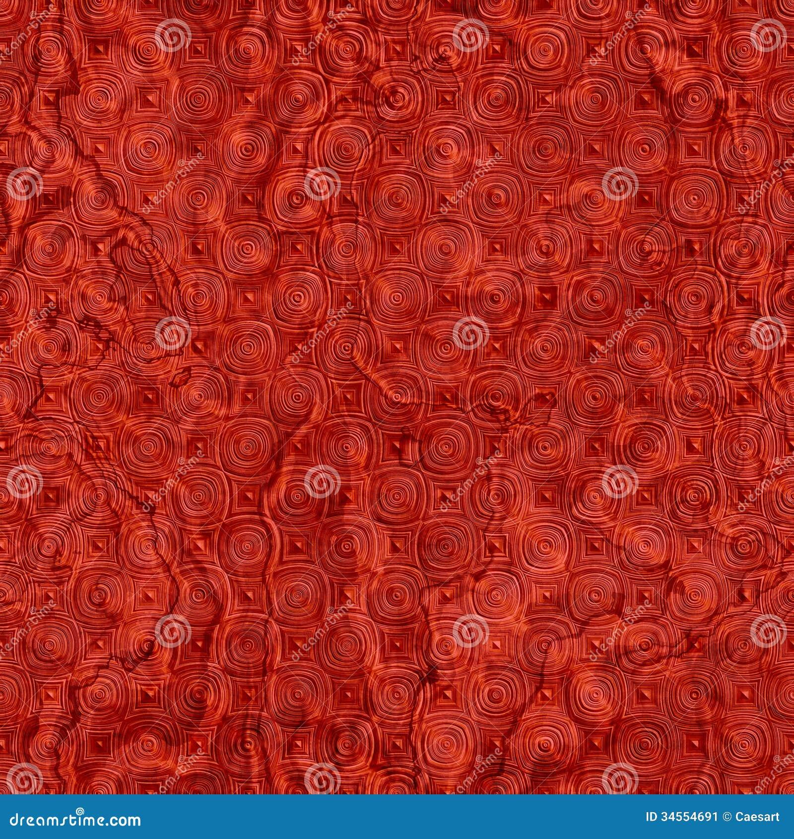 Papel Decorativo Rojo Imagen De Archivo Imagen De Navidad