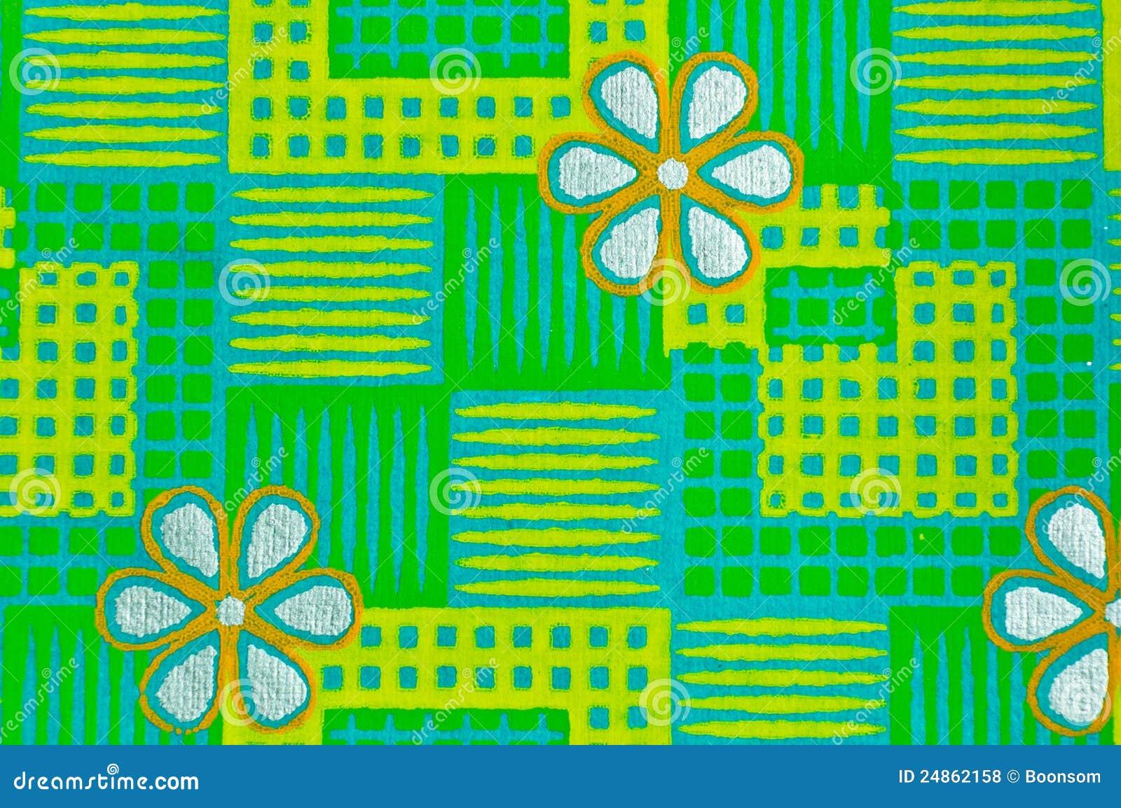 Papel decorativo verde foto de stock imagem de ornate 24862158 - Papel autoadhesivo decorativo ...