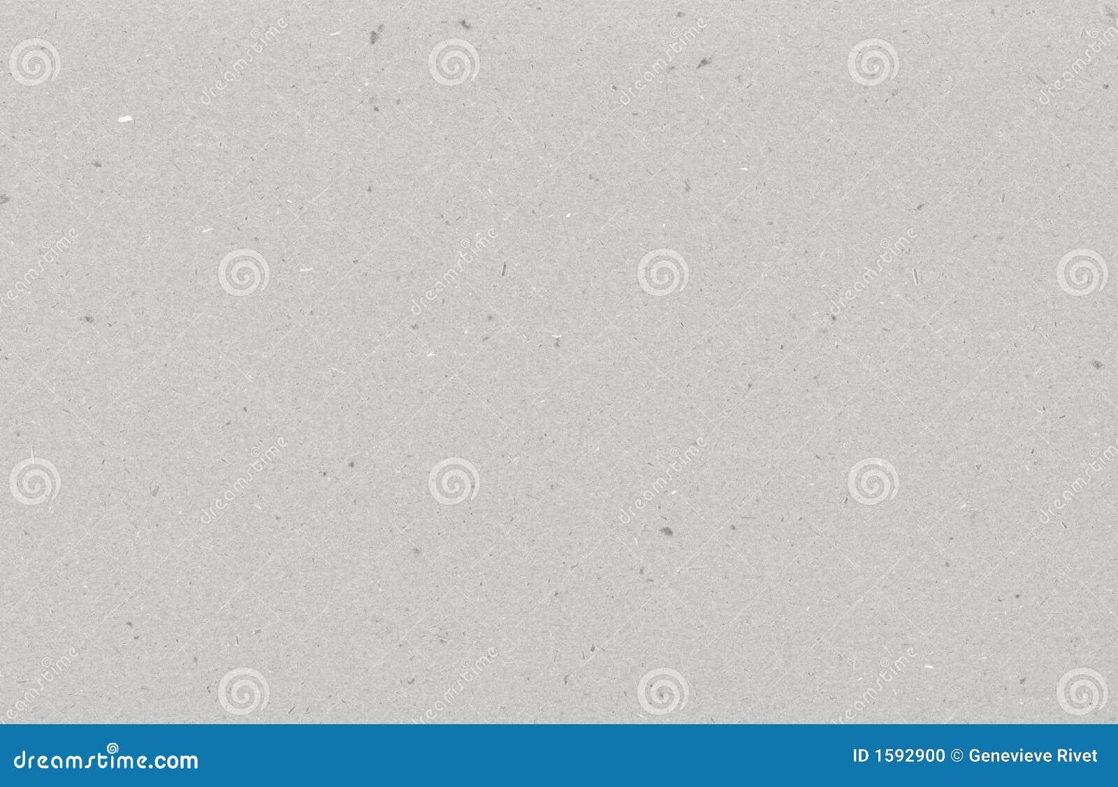 Papel gris reciclado