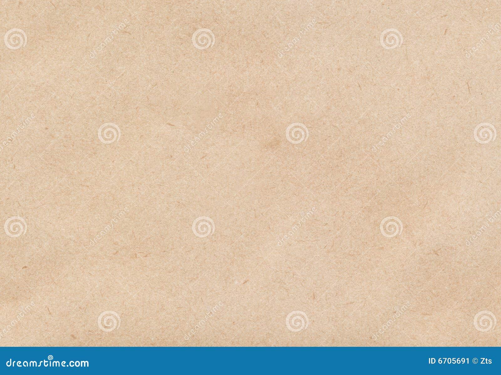 Papel marrón del sobre