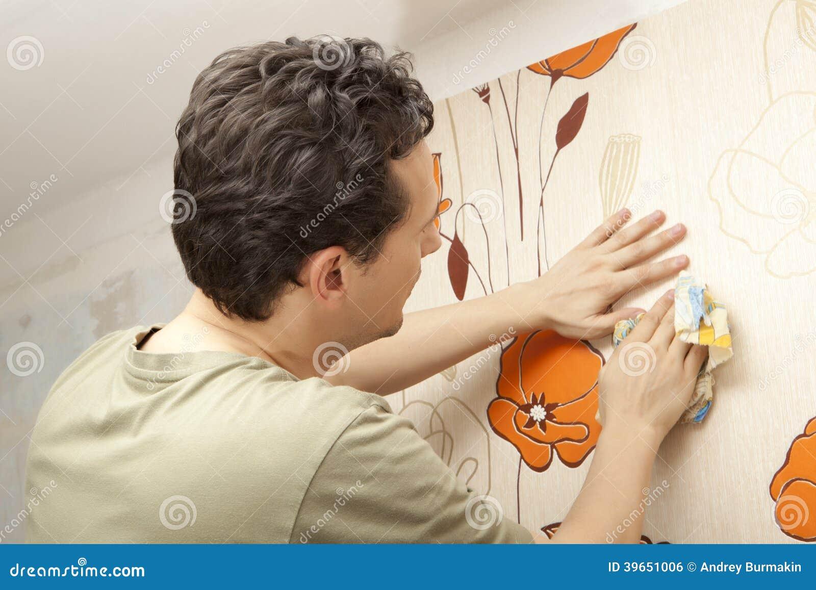Papel pintado de la ejecución del decorador
