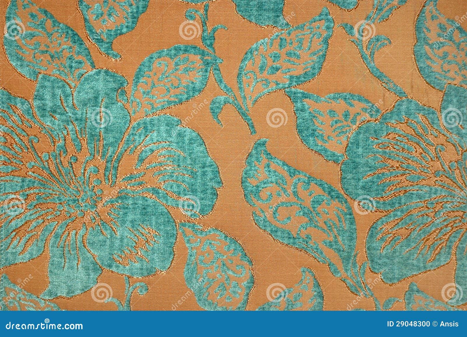 Papel pintado de la tela de la turquesa foto de archivo imagen 29048300 - Papel pintado turquesa ...