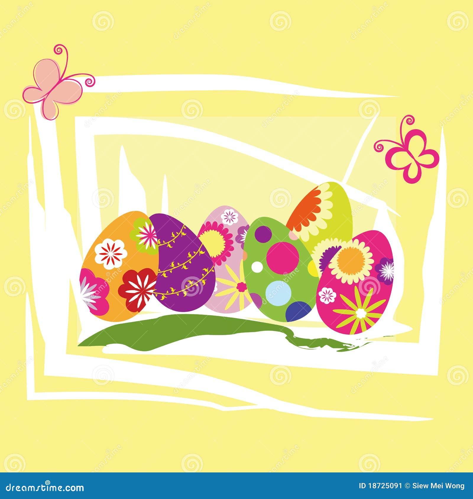 Papel pintado del día de fiesta de Pascua de la primavera