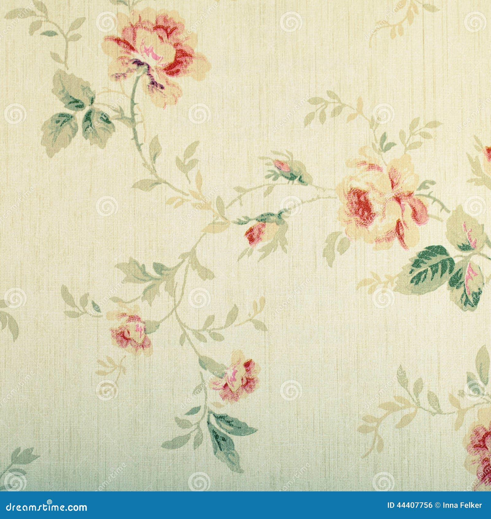Papel pintado del victorian del vintage con el estampado de flores stock images 18 photos - Papel pintado vintage ...