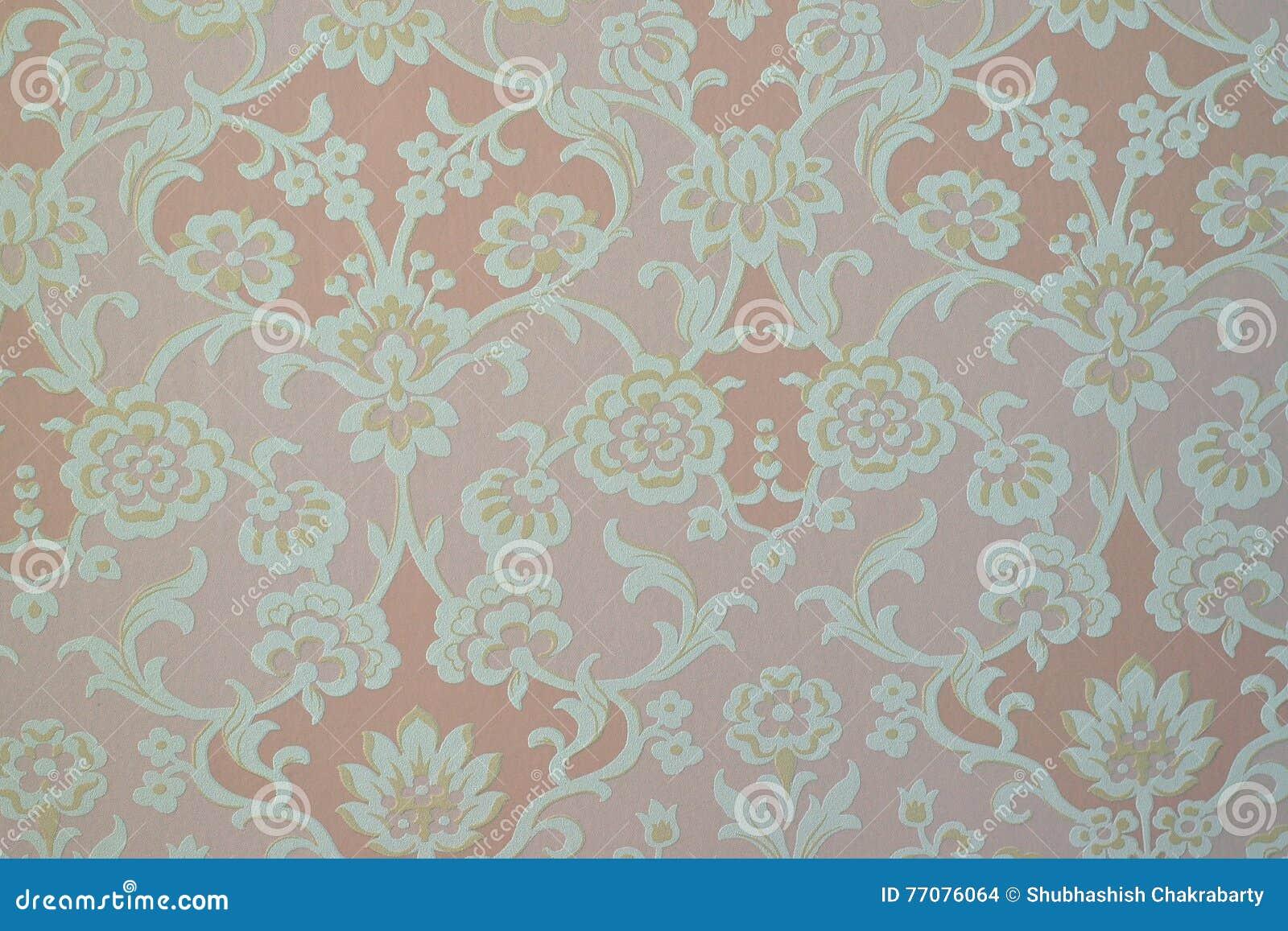 Papel Pintado Floral Suave De La Decoraci N De La Textura
