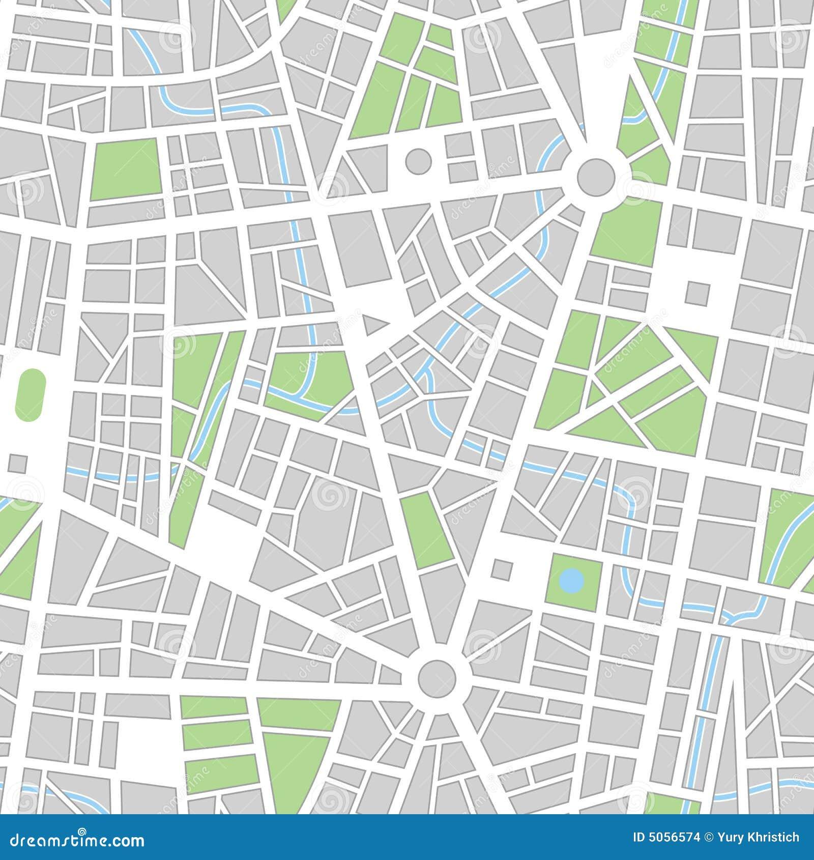Papel pintado inconsútil del vector de la ciudad