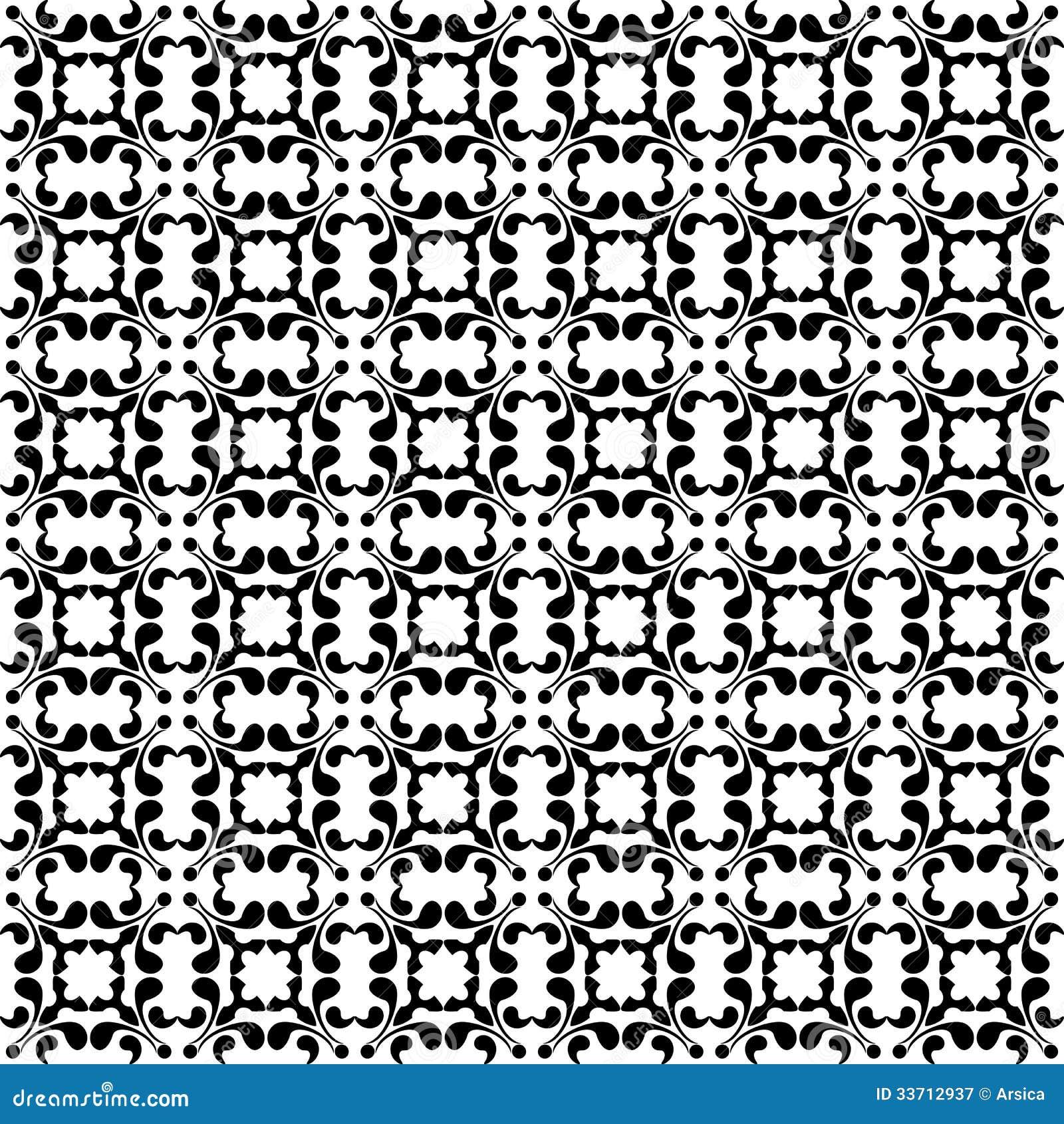 Papel pintado incons til floral blanco y negro fotograf a for Papel pintado blanco y negro