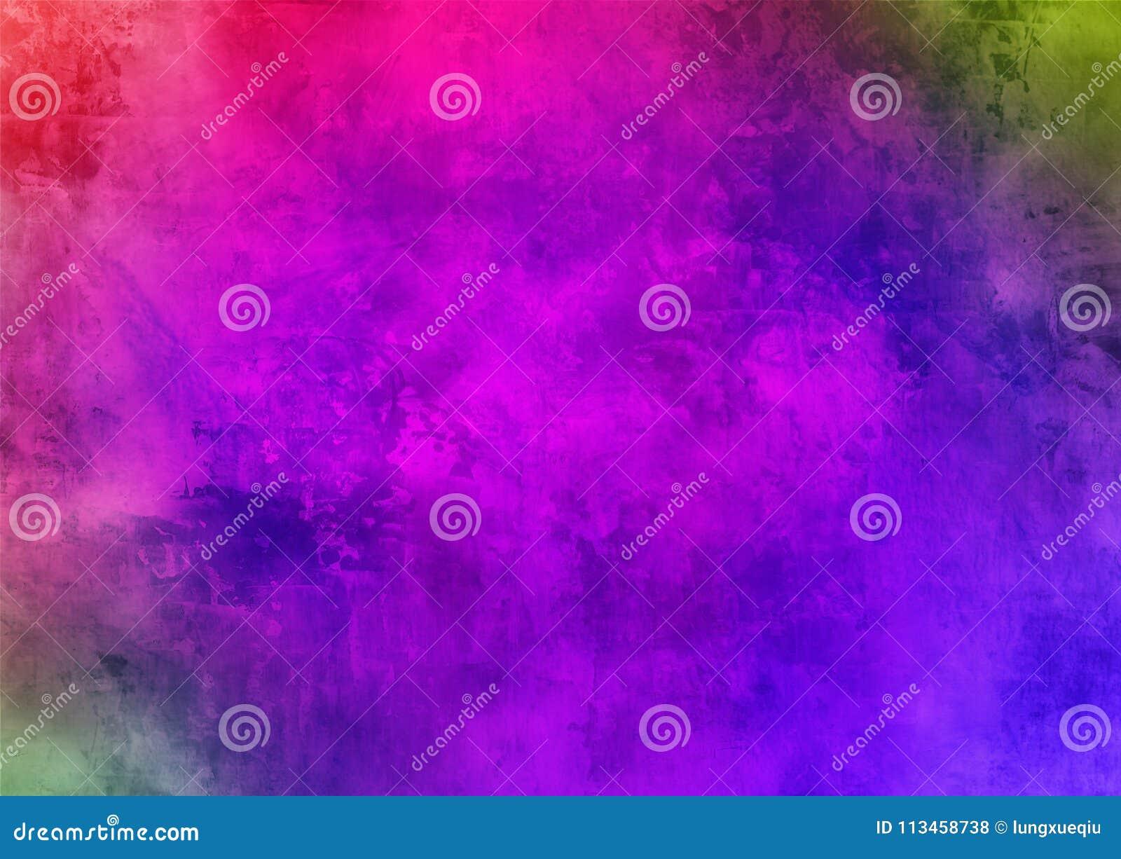 Papel pintado púrpura oscuro del fondo de Smokey Abstract Pattern Texture Beautiful del polvo de Violet Mystic Old Distorted Grun