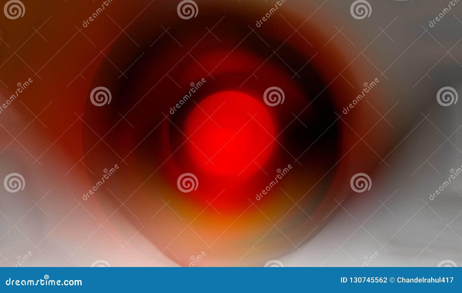 Papel pintado sombreado rojo oscuro y wite borroso amarillo del fondo ejemplo vivo del vector del color