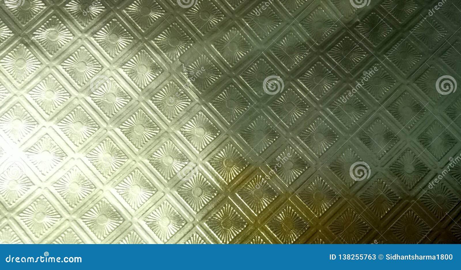 Papel pintado texturizado extracto shinning de papel de oro del fondo de la hoja