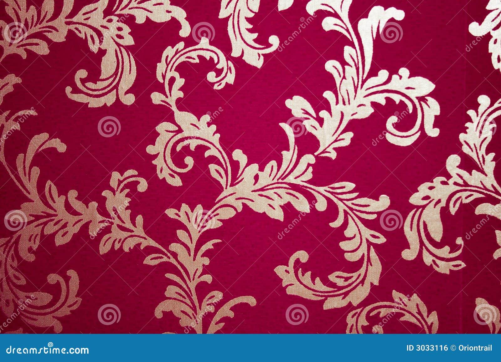 Papel pintado viejo del damasco