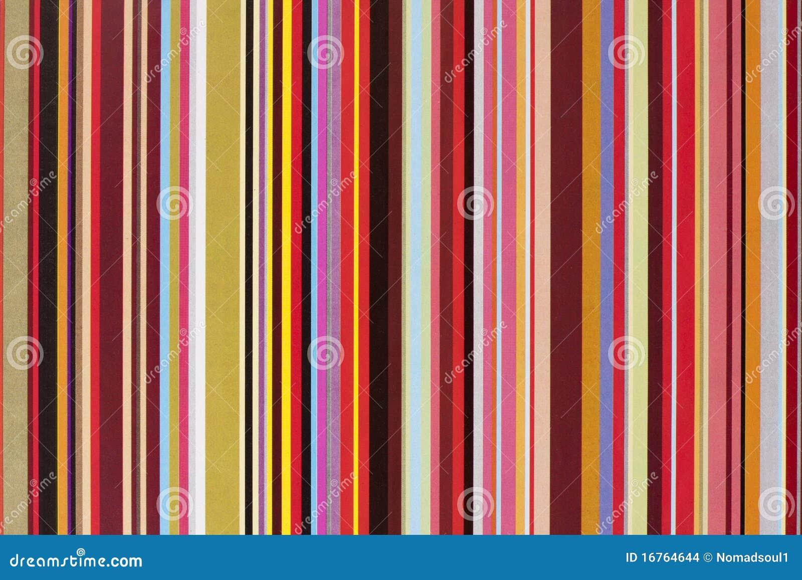 Papel Rayado Del Regalo Del Color Foto de archivo - Imagen de ...