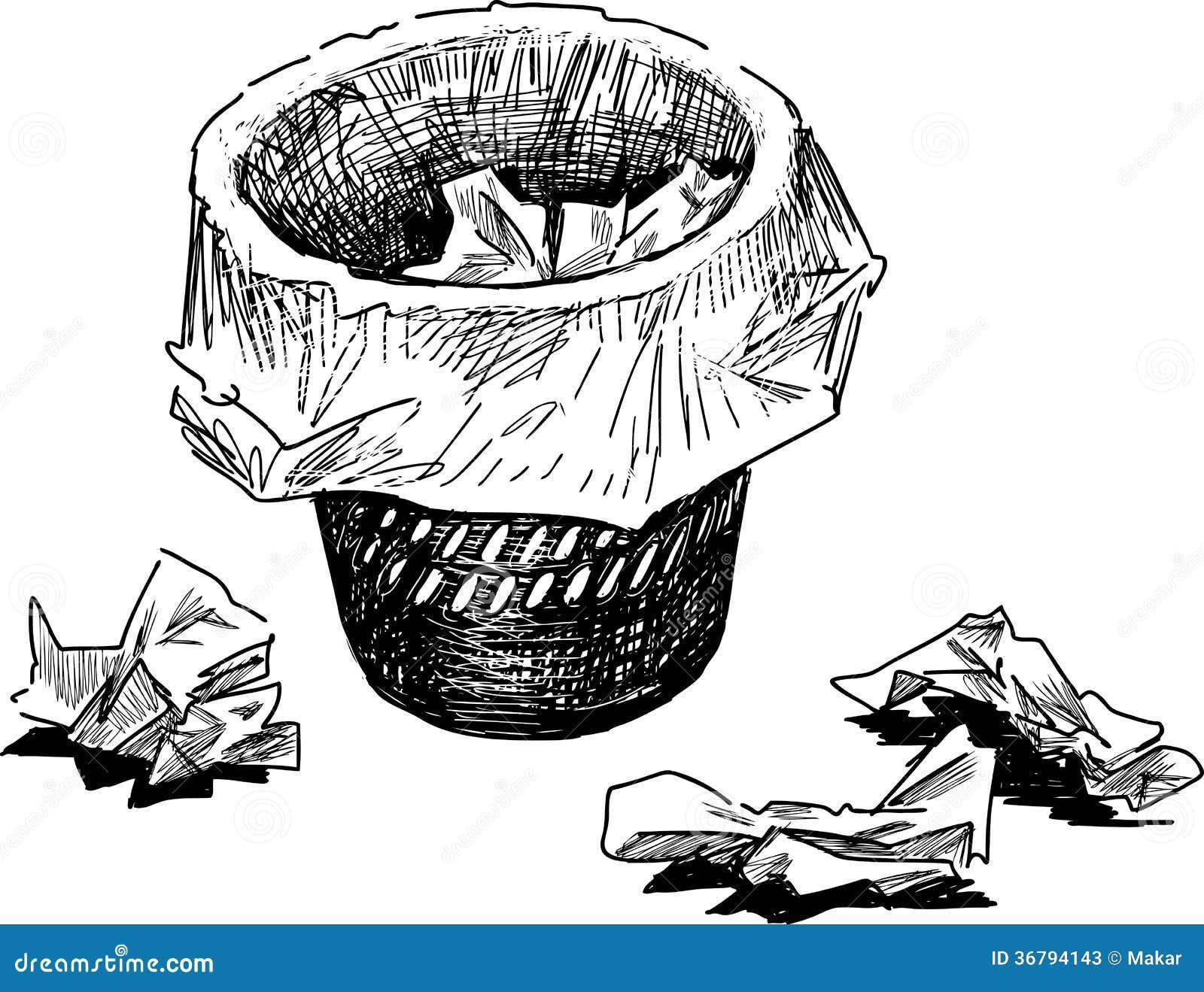 Papelera Dibujo