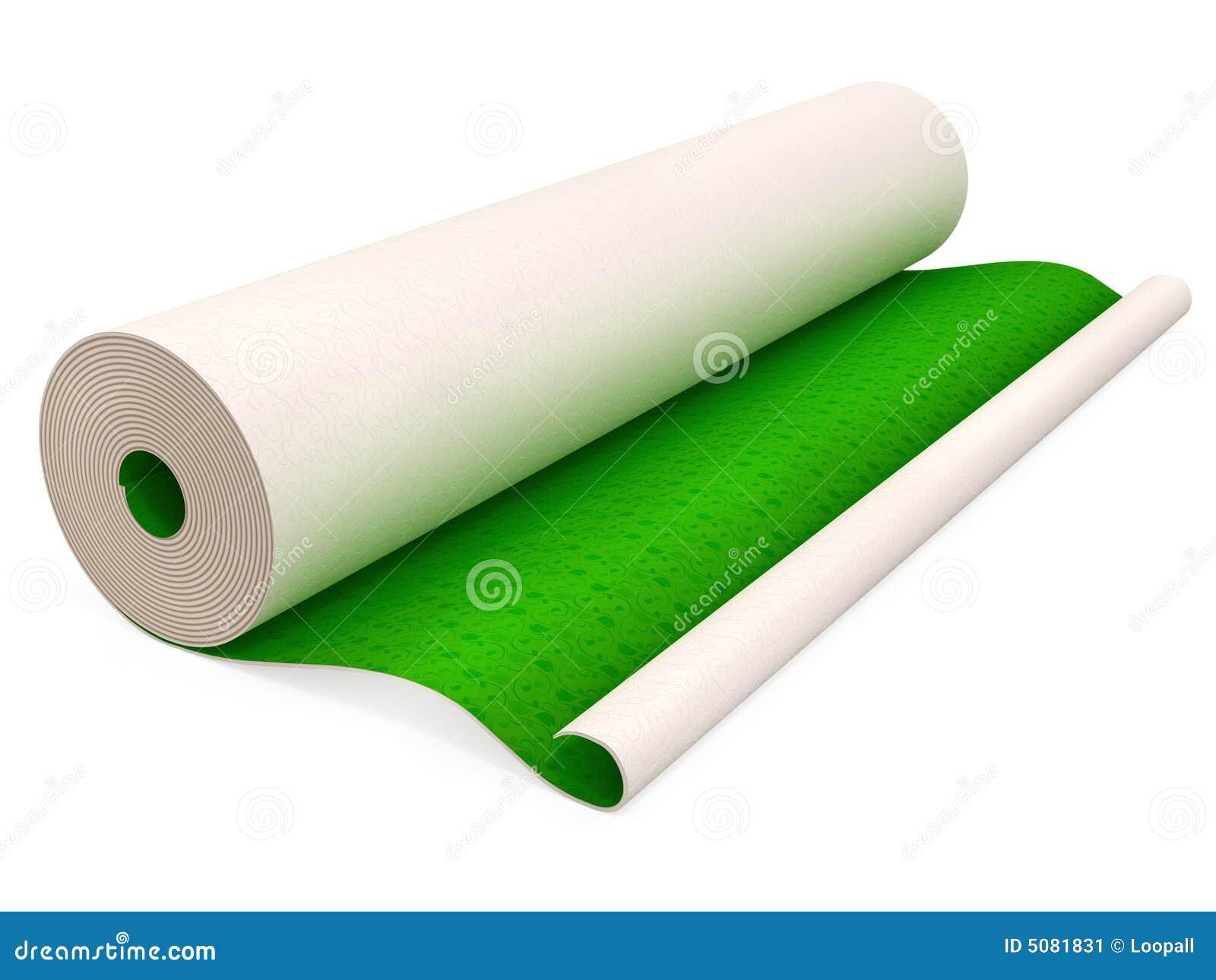 Papeles pintados verdes para el recubrimiento de paredes - Recubrimiento para paredes ...