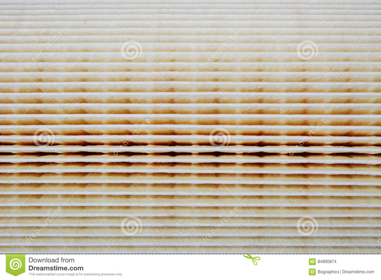 Download Paper Air Filter Texture For Car Engines Stock Photo - Image of texture, engines: 84900874