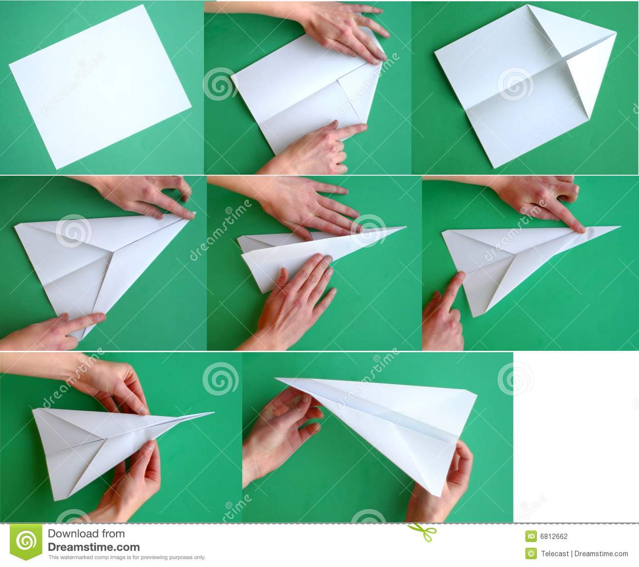 Pay for a paper airplane time