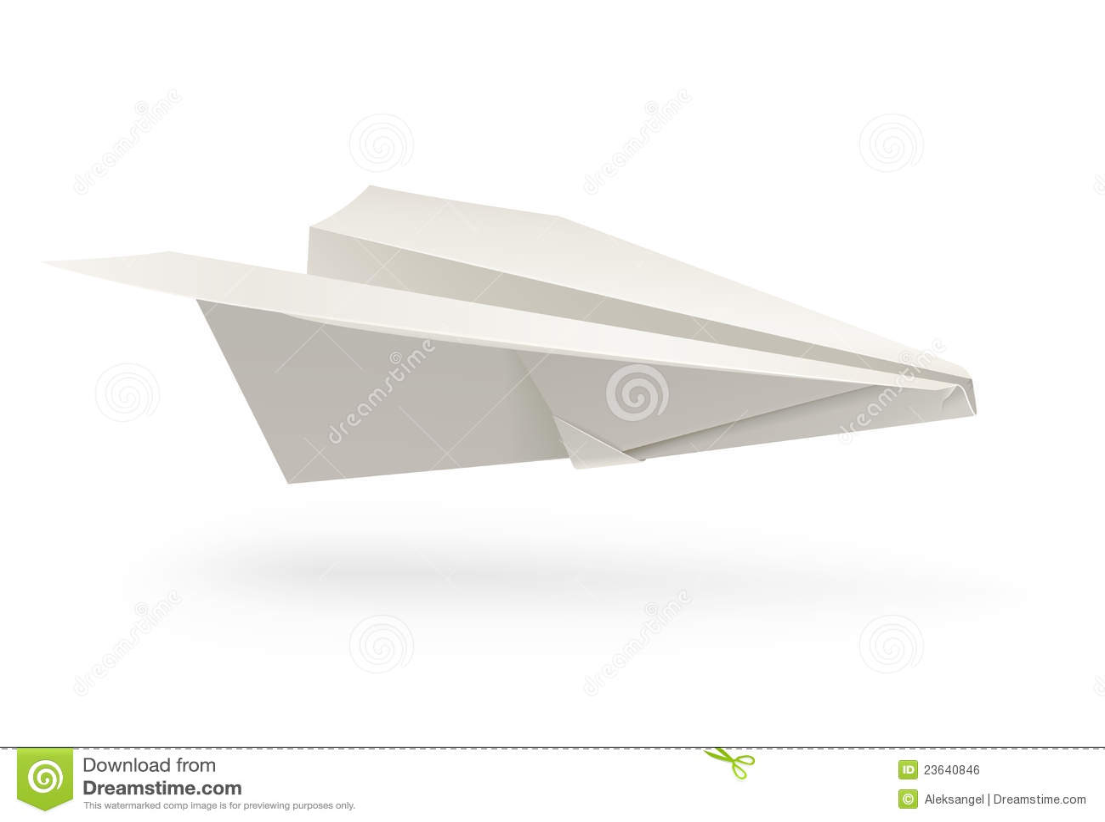 paper plane stock illustration - photo #9