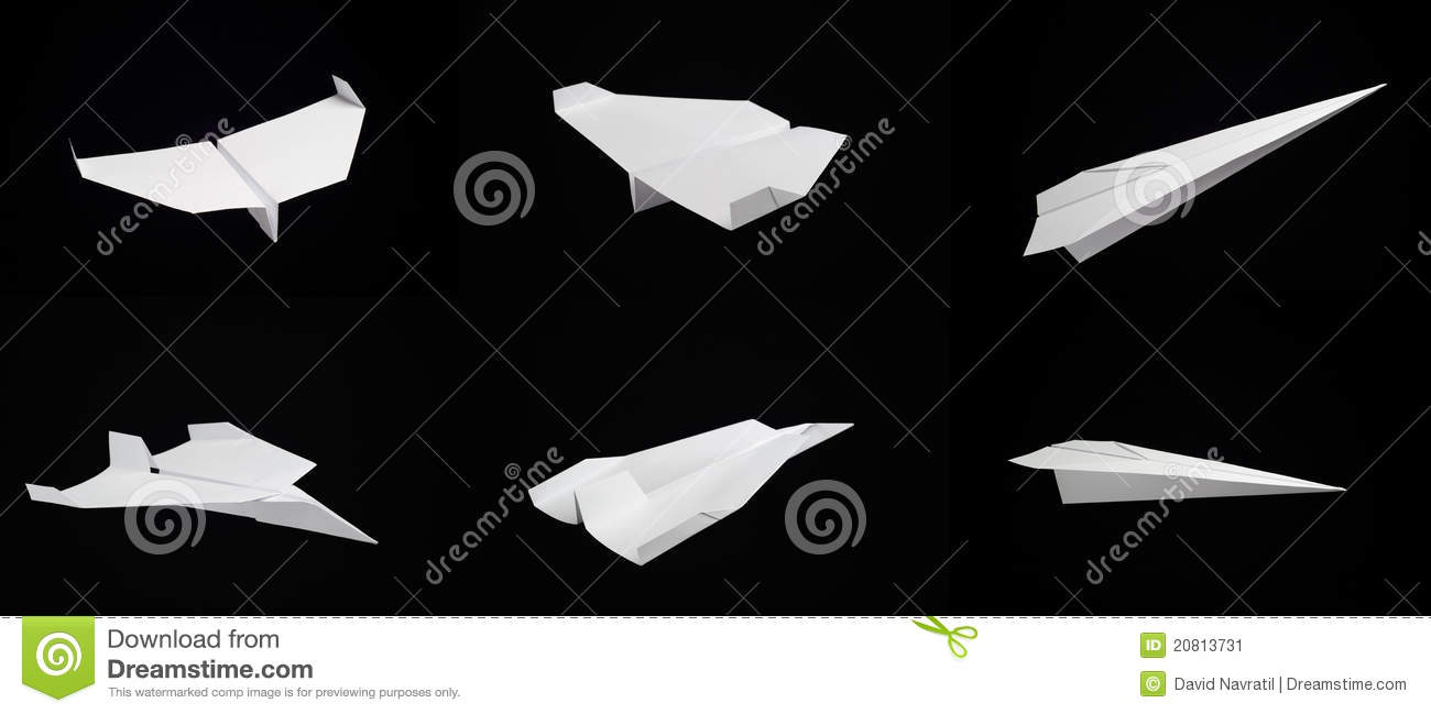 types of paper airplanes