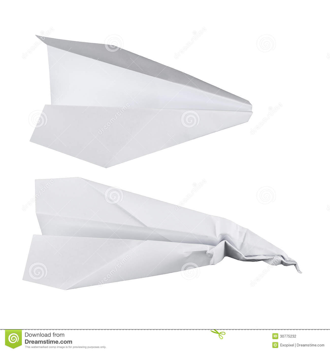 how to make a normal paper airplane