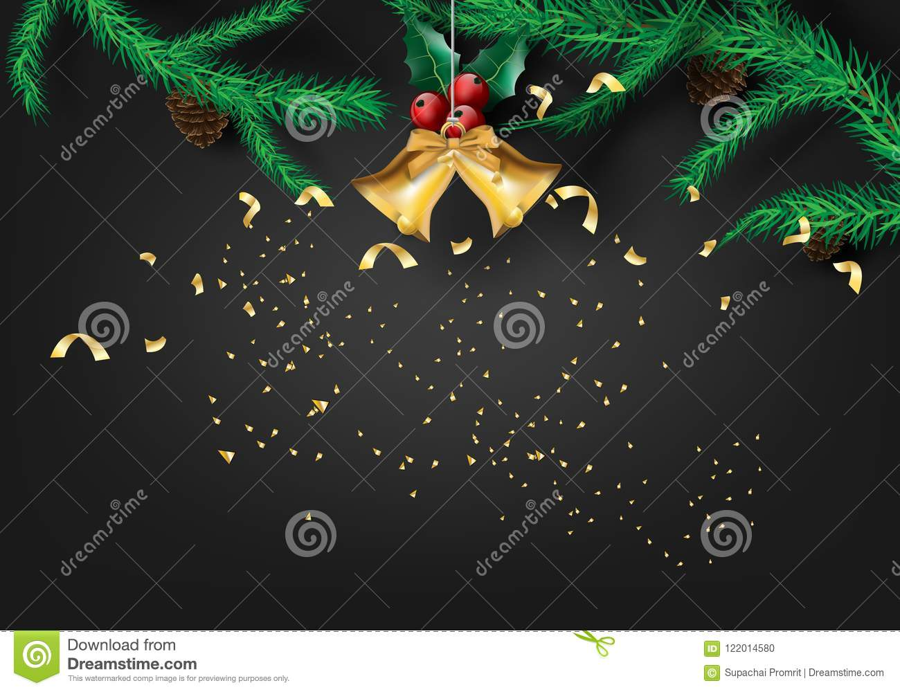 Paper art of merry christmas and happy new year 2019 with - New year 2019 color ...