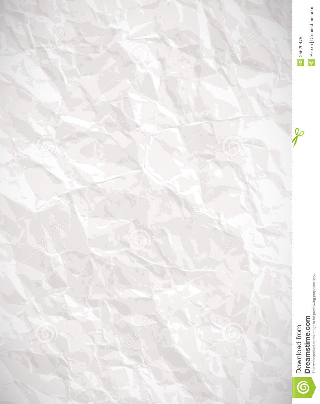 Paper Background - Vector Creased Texture Stock Vector ...