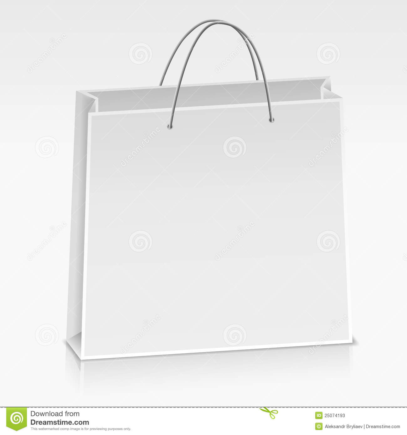 Paper Bag Stock Photos - Image: 25074193White Paper Bag Vector