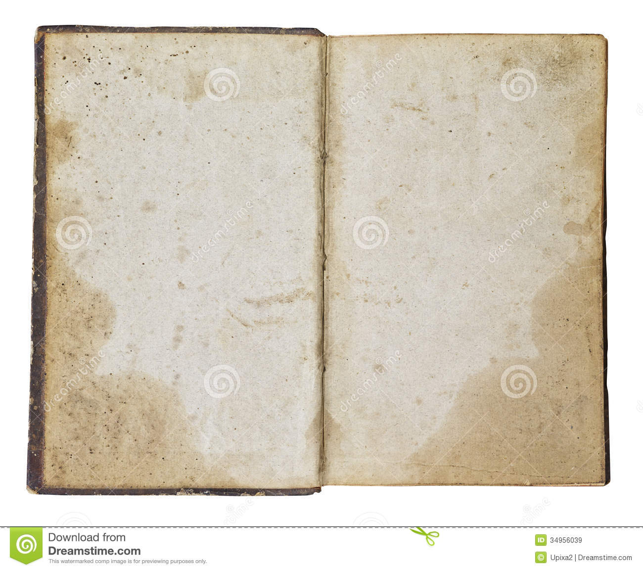 Paper beige background old book open stock image for Vintage book paper