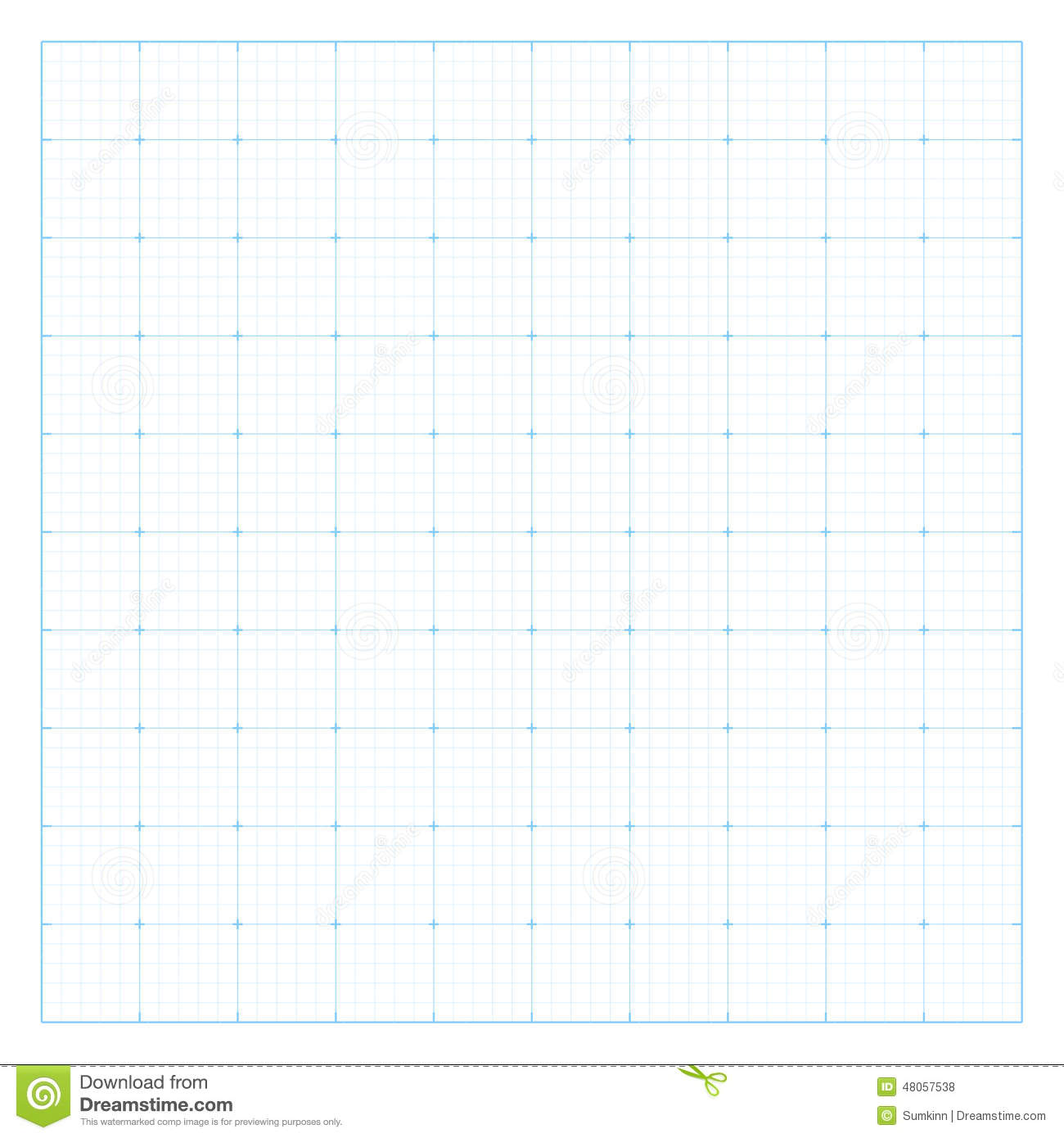 Paper Blueprint Background. Stock Vector