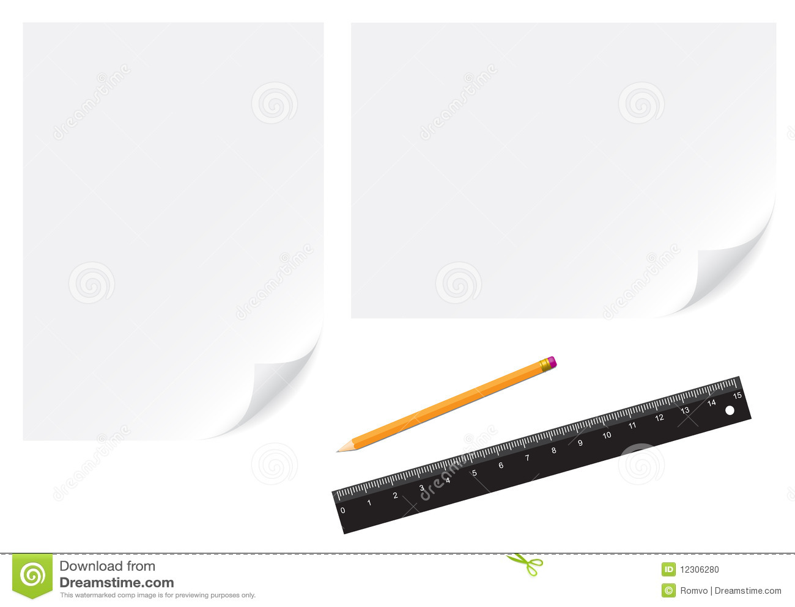 Paper blyertspenna