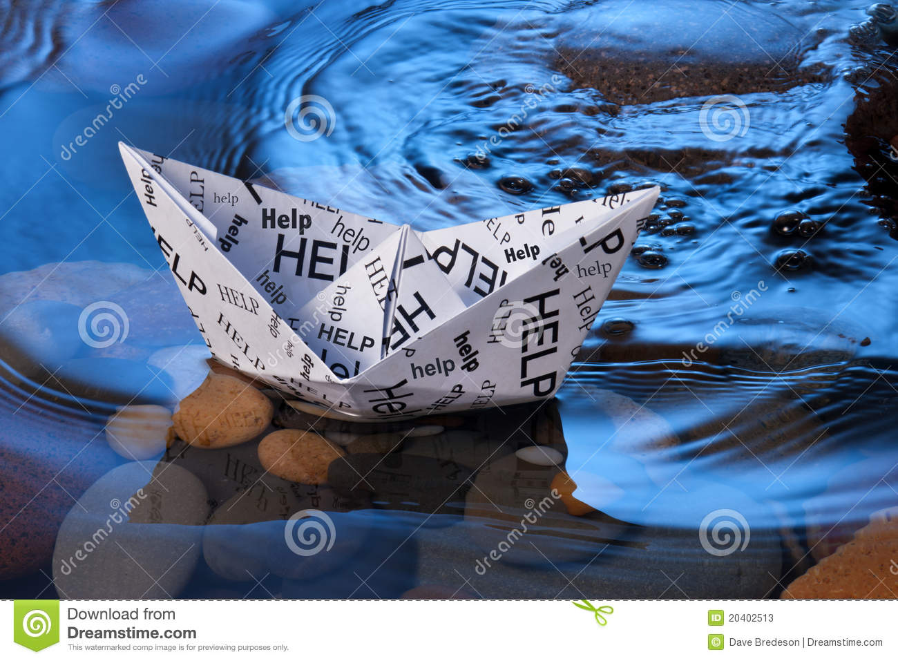 Paper Boat Help Stress Anxiety