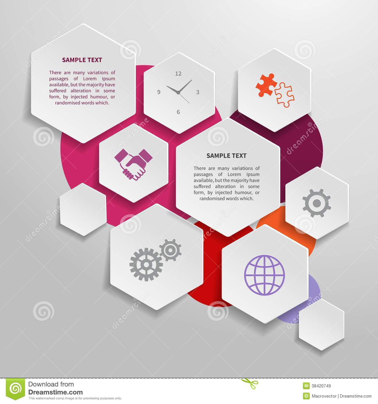 Infographics Paper Design. Royalty Free Stock Image - Image: 32613246