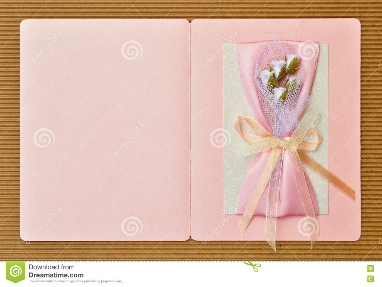 Paper Card Design Handmade Stock Photo Image Of Decor