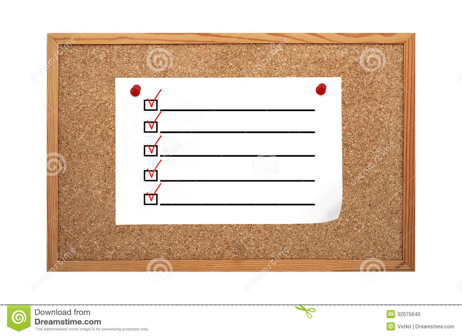 paper checkbox