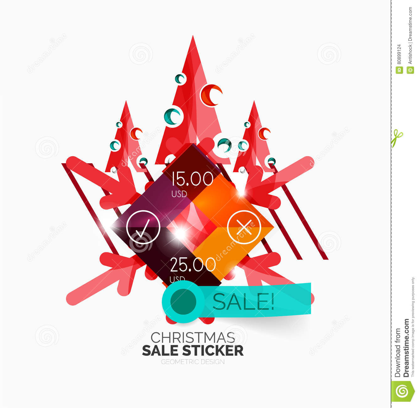 download paper christmas and new year banner stock vector illustration of card celebration