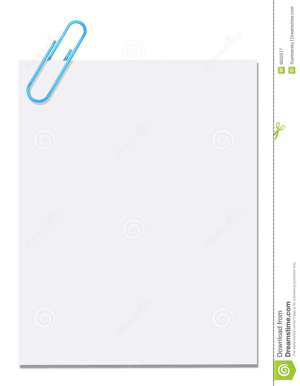 paper clip memo royalty stock photography image  paper clip memo