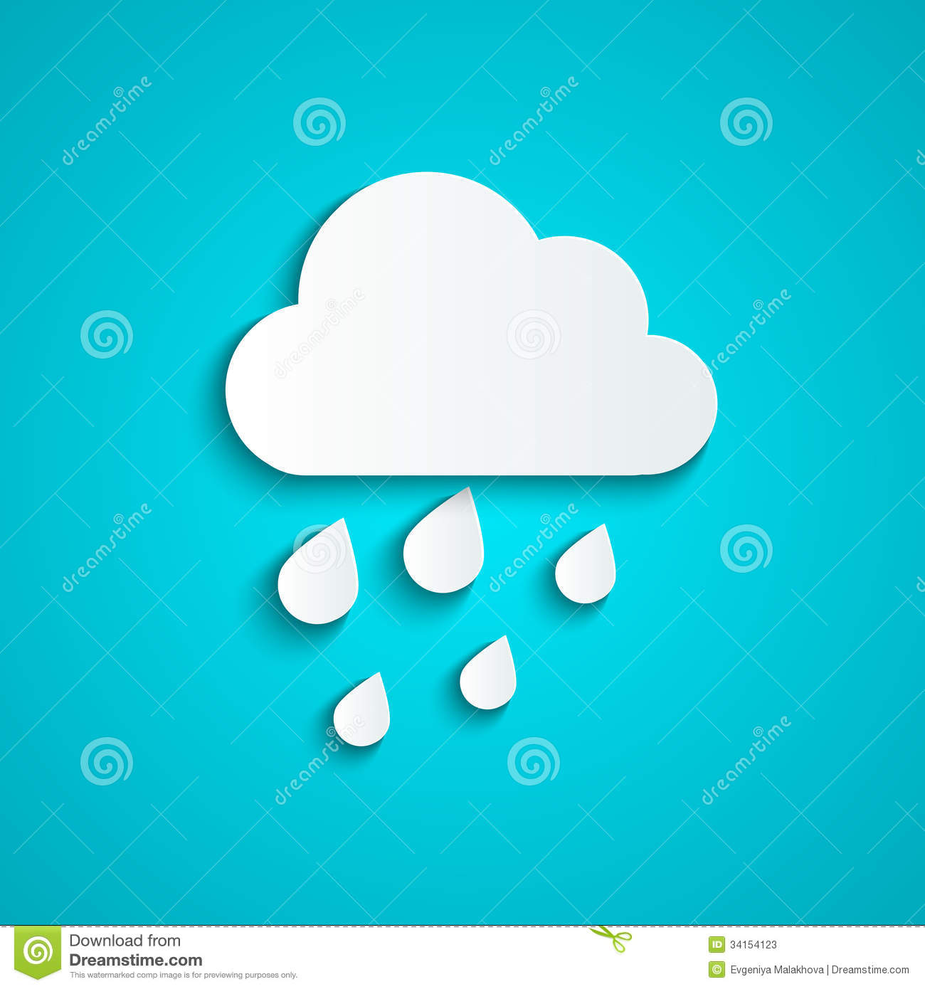 Paper cloud stock photos image 34154123 for How to make a paper cloud